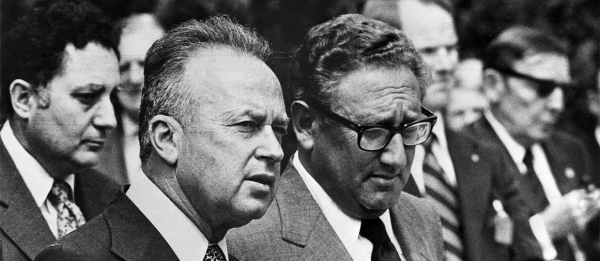 Rabin disbelieves Kissinger.