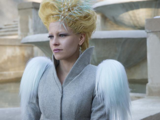 Way low key for Effie.