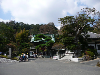 It's a fine line between manicured Japanese beauty and Disneyland.