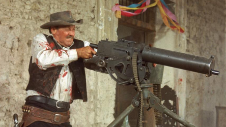 Ya gotta have a gatling gun, or it's barely a Western.