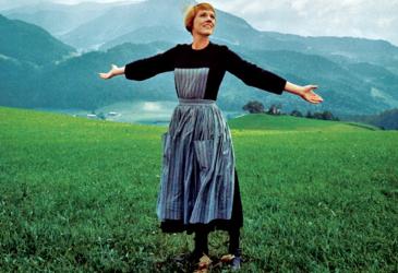 Julie Andrews, forever typecast.